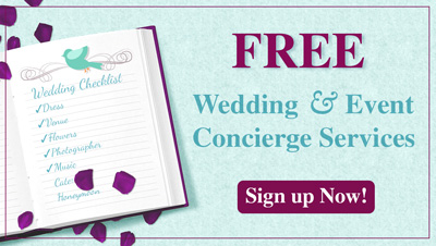 Free Wedding and Event Concierge Services