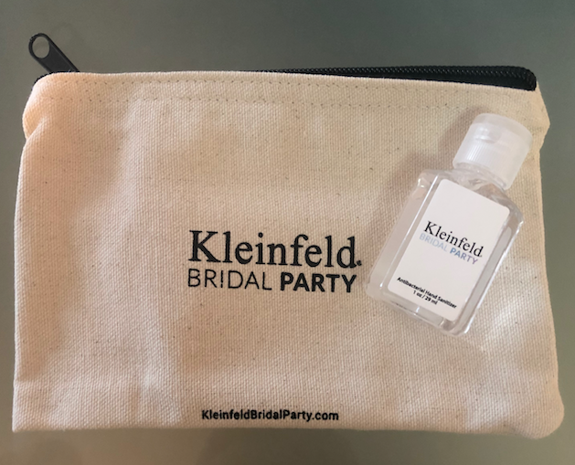 Kleinfeld Bridal Party Makeup Bag