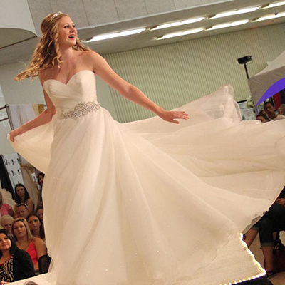 Bride Twirling